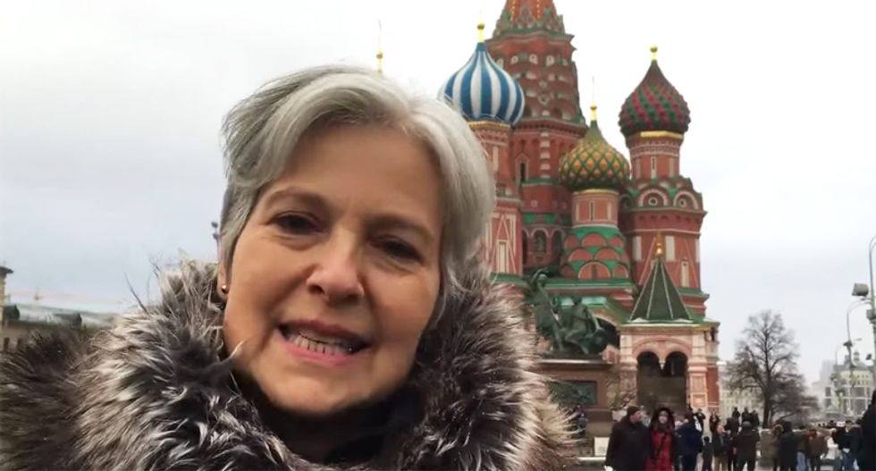 Russian Greens slam Stein for cozying up to Putin: Your silence on his crimes 'silences our struggle'