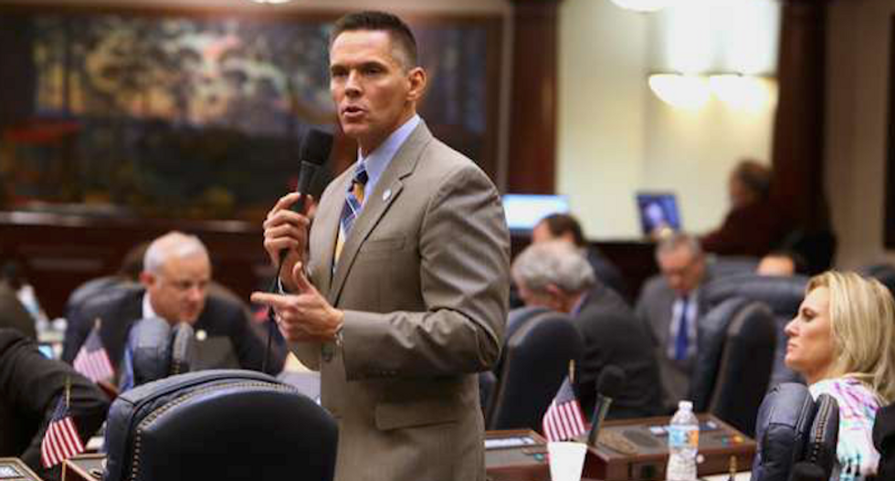Newly elected Florida Republican already caught in a scandal over illegal donations
