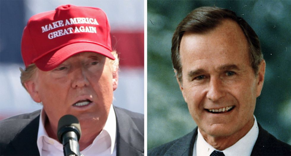 Promises on the economy made George HW Bush a one-term president – Trump's lies on the economy may do the same for him