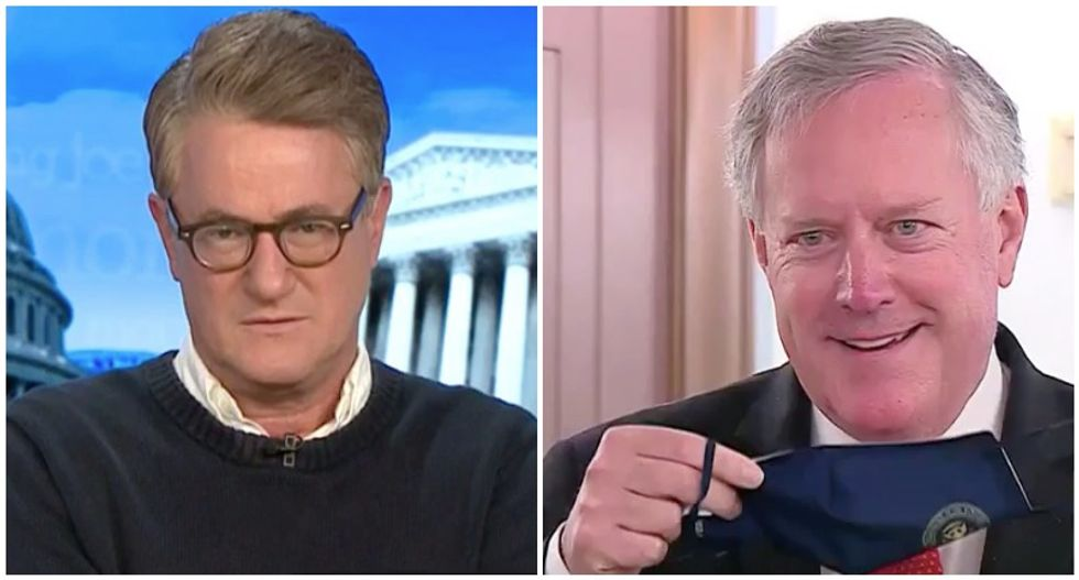 GOP's mask-hating 'macho death cult' ripped to shreds by MSNBC's Morning Joe: 'This is insanity'