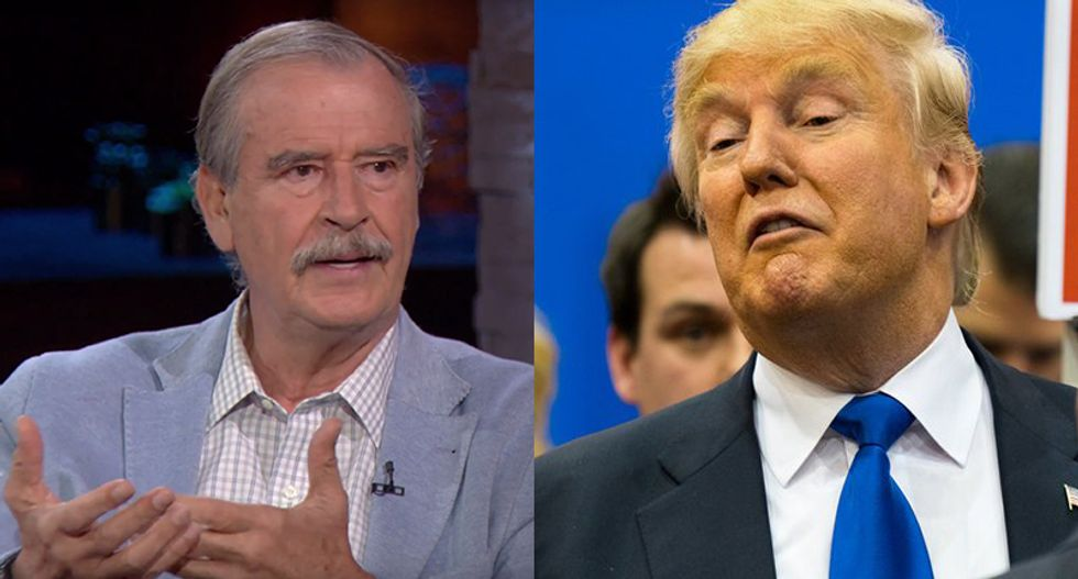 Ex-Mexican President Fox: Trump 'handles information like a virus' – and he's sickening Americans
