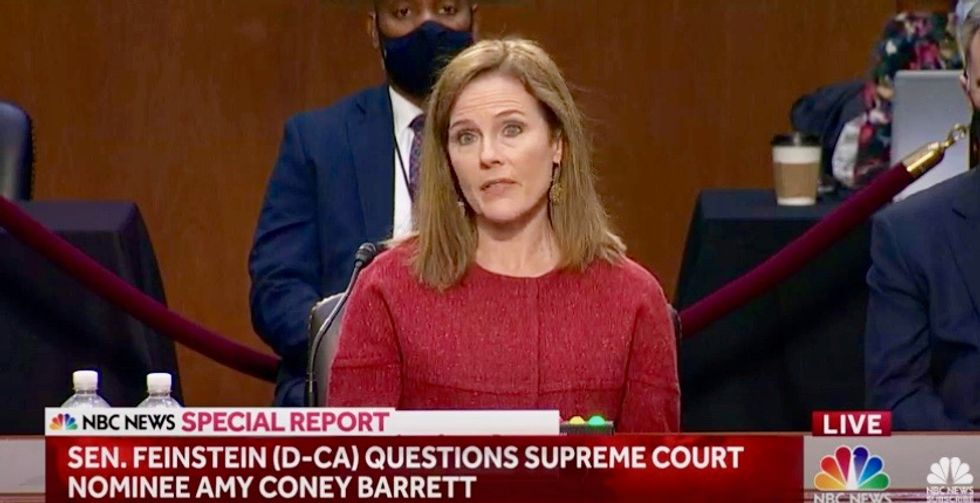 Amy Coney Barrett blasted for use of 'sexual preference': A 'dogwhistle' used 'by anti-gay activists'