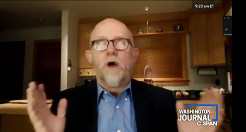 WATCH: Rick Wilson spars with Trump supporters live on C-SPAN – and it's hilarious