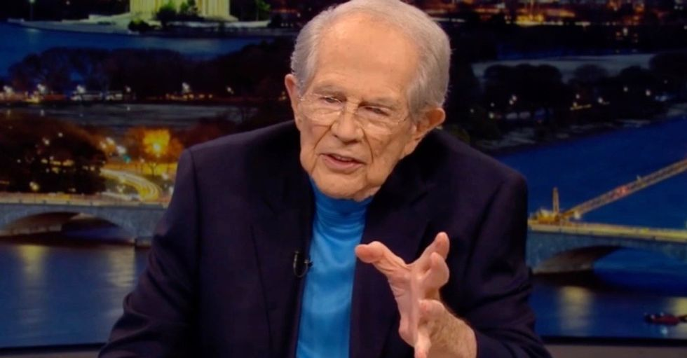 WATCH: Pat Robertson predicts 5 years of 'paradise' – which he says includes the end of Black Lives Matter and Antifa