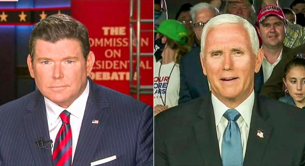 Fox News host to Mike Pence: 'Which is it, a totally fake news story or illegally obtained documents?'