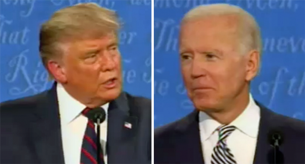 'Everybody knows he's a liar': Biden smacks down Trump for claiming he wants socialized medicine