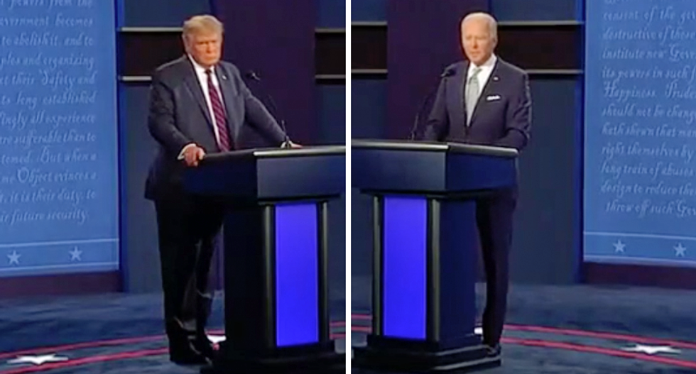 Trump causes widespread shock by refusing to call out white supremacy at first 2020 debate