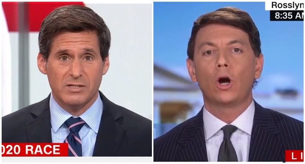 'It's a lie': CNN host busts Trump spokesman for falsely claiming the president denounced the Proud Boys