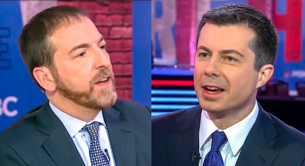 Chuck Todd goes down in flames trying to force Pete Buttigieg to say Obama is to blame for 'the rise of Trump'