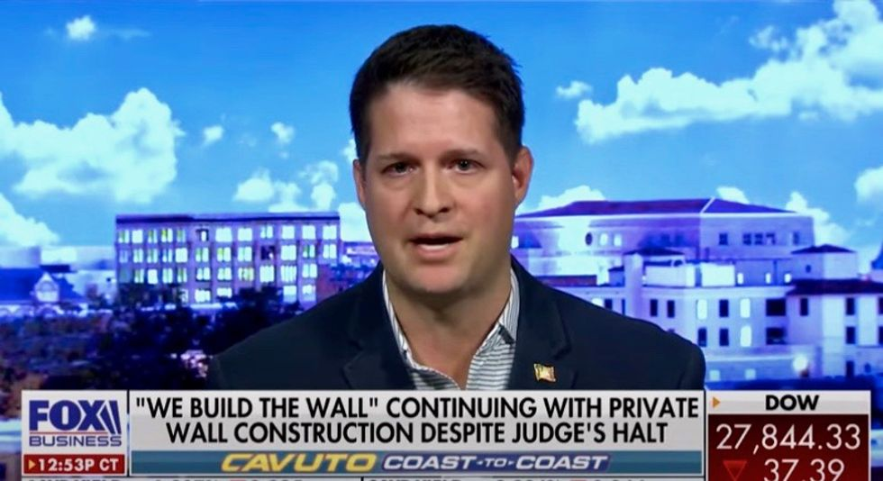 Infamous 'Build the Wall' defendant using personal attacks and misinformation to sic his trolls on perceived detractors