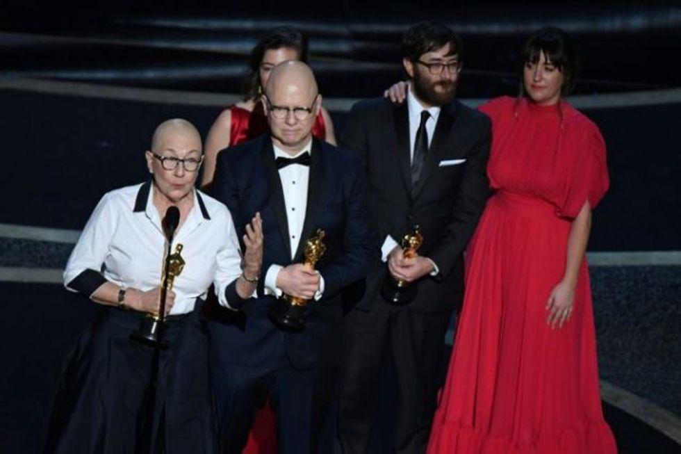 President Barack Obama's first film wins best documentary Oscar