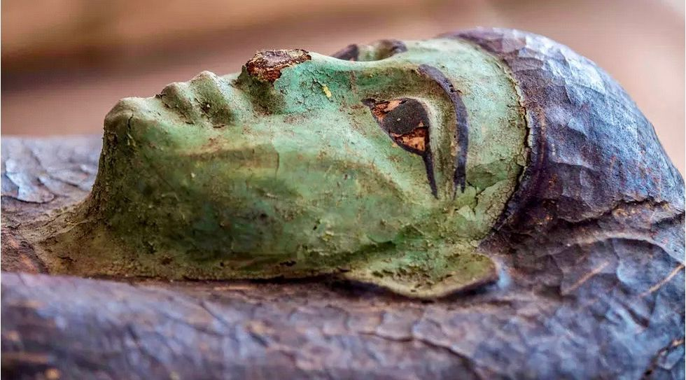 Egypt unveils coffins buried 2,500 years ago