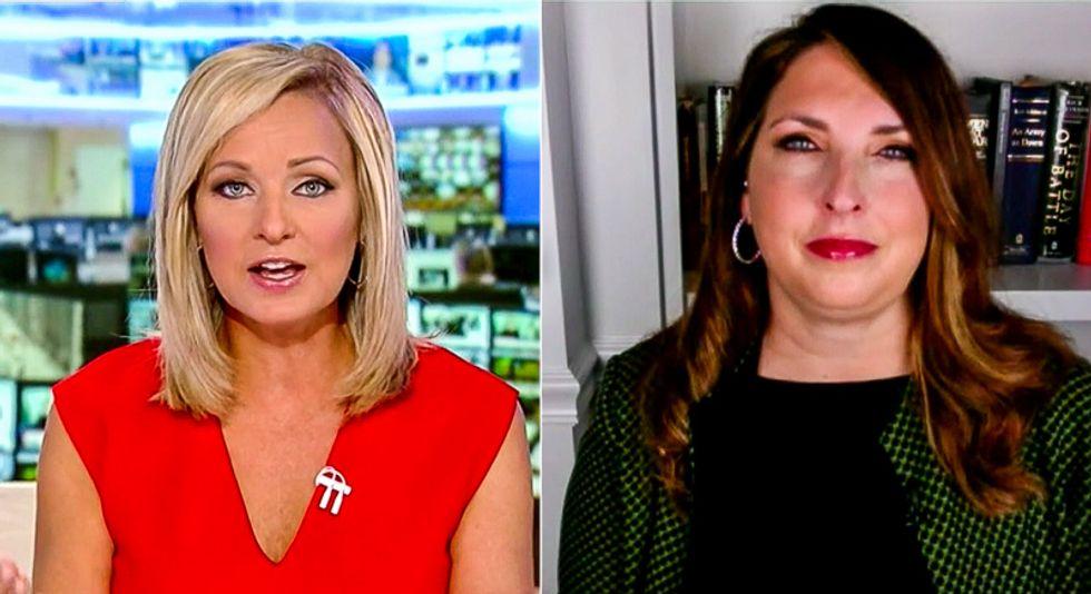 'Women didn't like that': Fox News host grills GOP chairwoman after Trump interrupts '145 times' at debate