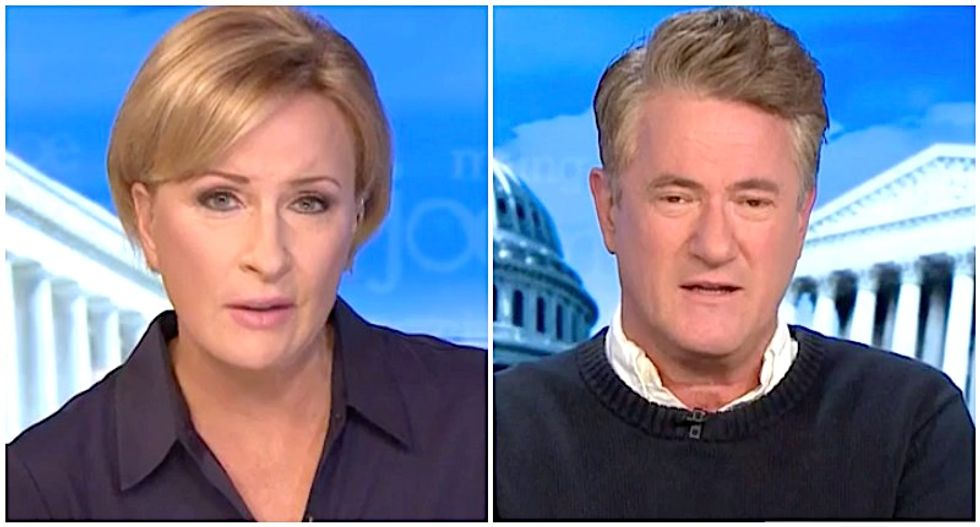 MSNBC's Morning Joe and Mika explain how 'certain networks' make it impossible for Trump supporters to break away