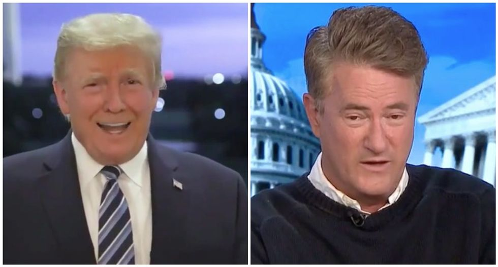 'It's the steroids talking': MSNBC's Morning Joe nails Trump's grandiose claims about COVID-19 infection