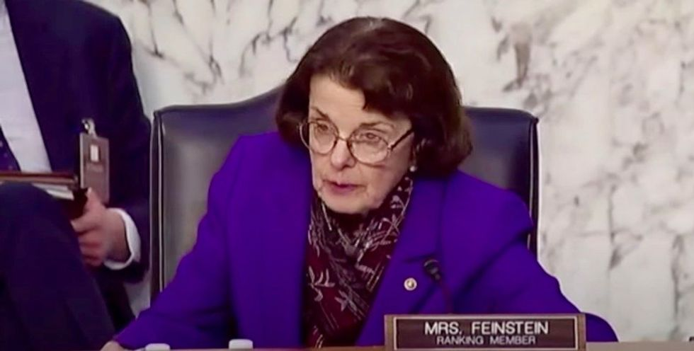 Democrats urged to 'intervene' and remove Dianne Feinstein from leadership role on Judiciary Committee