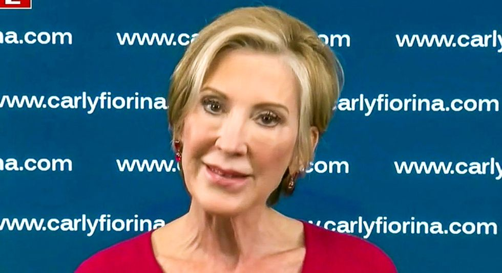 'Treachery!' MAGA fans lose it after 'turncoat' Carly Fiorina endorses Joe Biden on Fox News