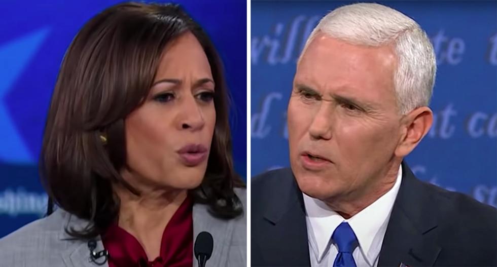 WATCH LIVE: Kamala Harris battles Mike Pence at the 2020 VP debate