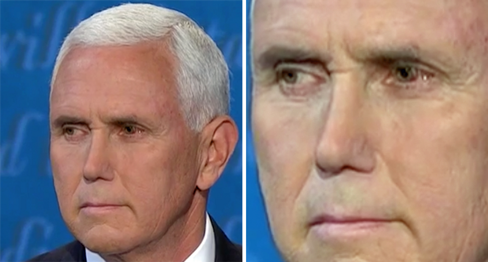 'He's got COVID eye!' Debate watchers concerned about Mike Pence's pink eyes