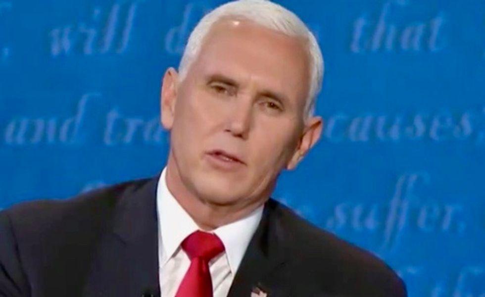 'Pence has conjunctivitis' says CNN medical analyst