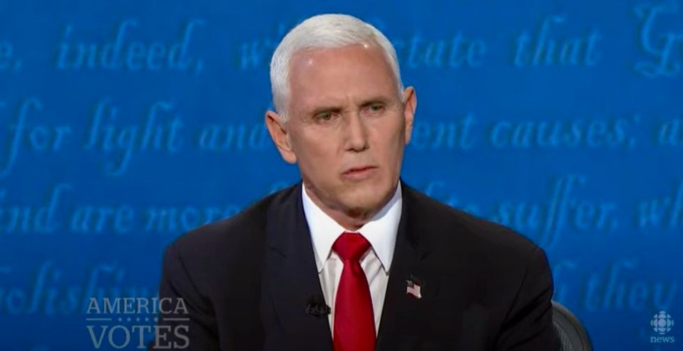 'This is their desperate attempt to cling on to power': Pence joins Trump in refusing to commit to peaceful transition