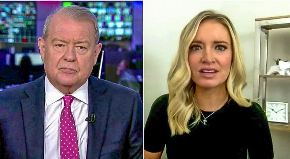 Kayleigh McEnany defends 'super-spreader event' despite catching COVID: 'There's no way to put a pinpoint on it'