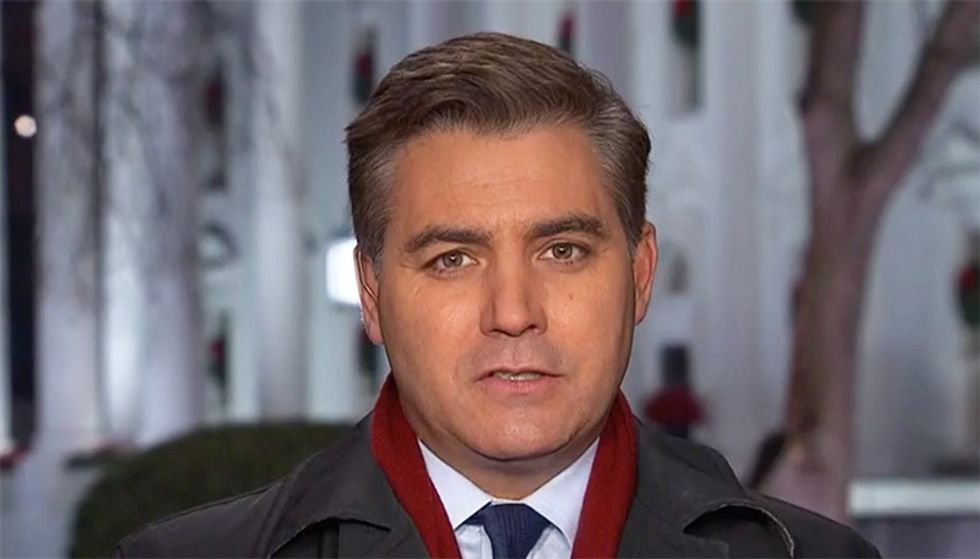 CNN's Jim Acosta wonders if Sarah Sanders will 'come back to the real world'