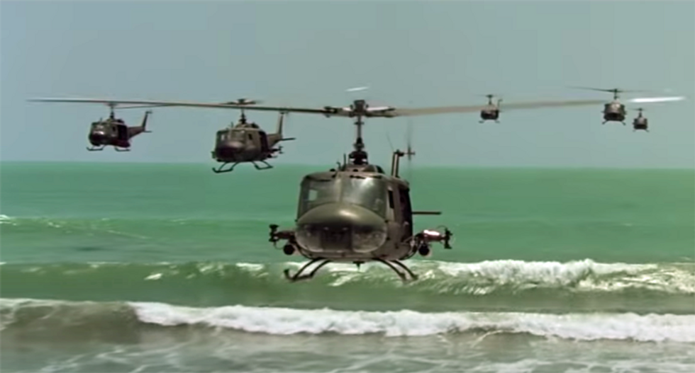 Lincoln Project gives Trump's Marine One flight 'Apocalypse Now' treatment in new video
