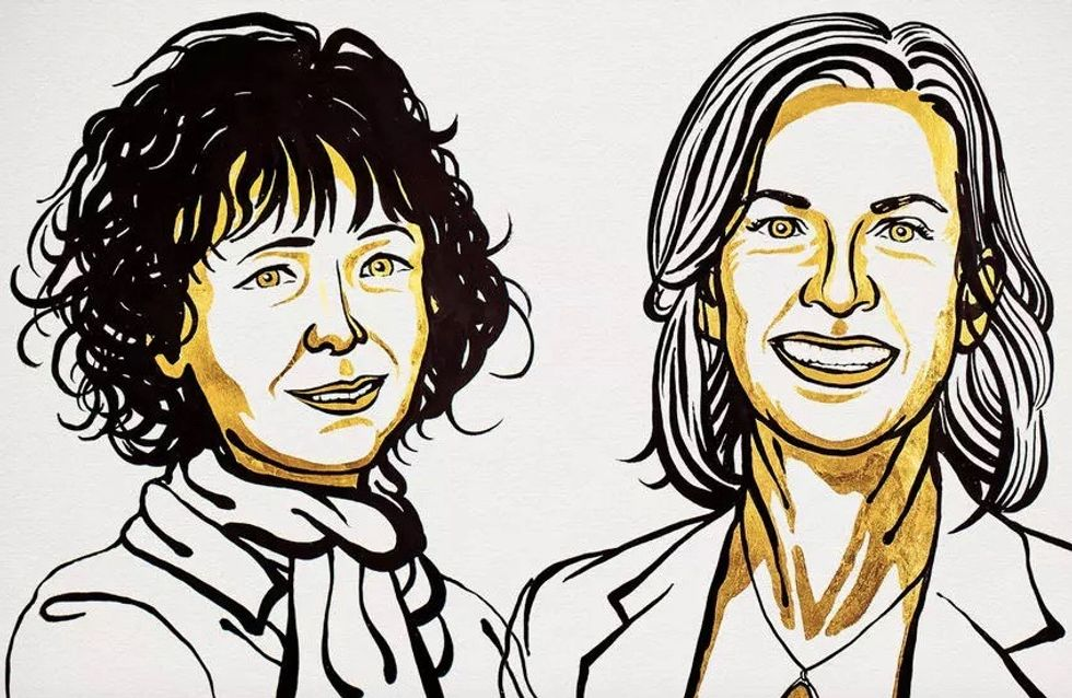 US-French duo Emmanuelle Charpentier, Jennifer Doudna win Nobel Chemistry Prize for gene editing tool