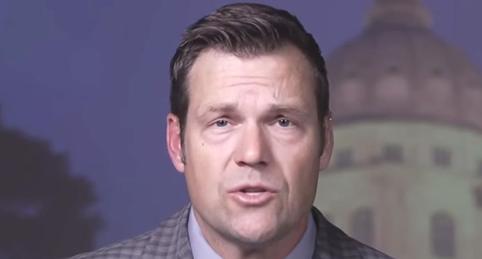 Trump backed Kansas governor candidate Kris Kobach's lead cut to just 91 votes