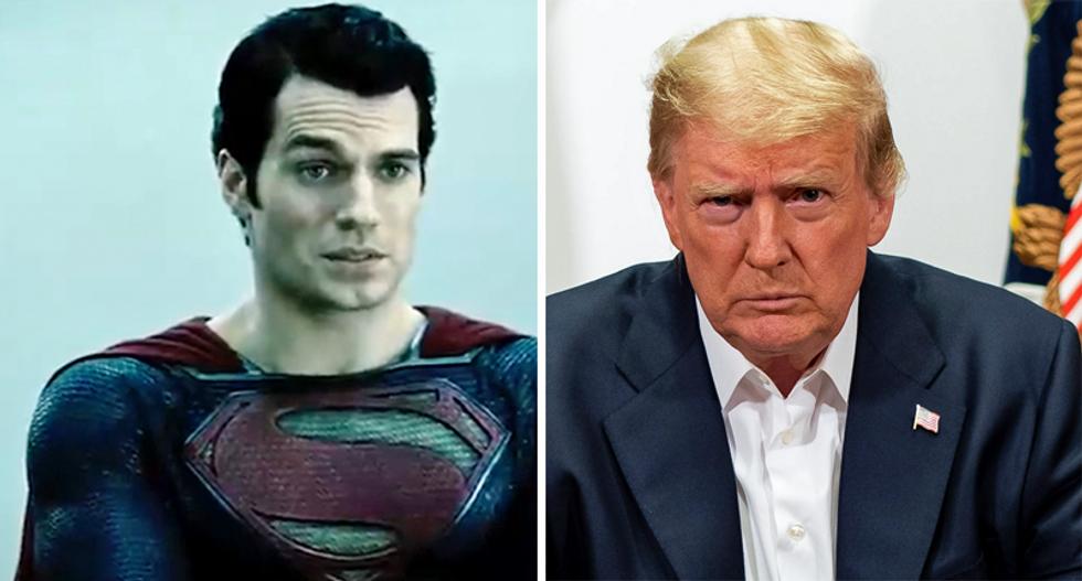 Trump considered Superman costume 'stunt' while leaving Walter Reed after coronavirus hospitalization: NYT