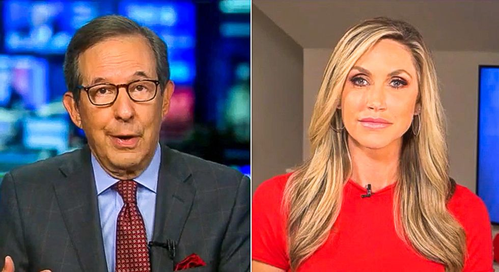 'I'm not making this up': Chris Wallace fires back at Lara Trump for lies about wearing masks at debate