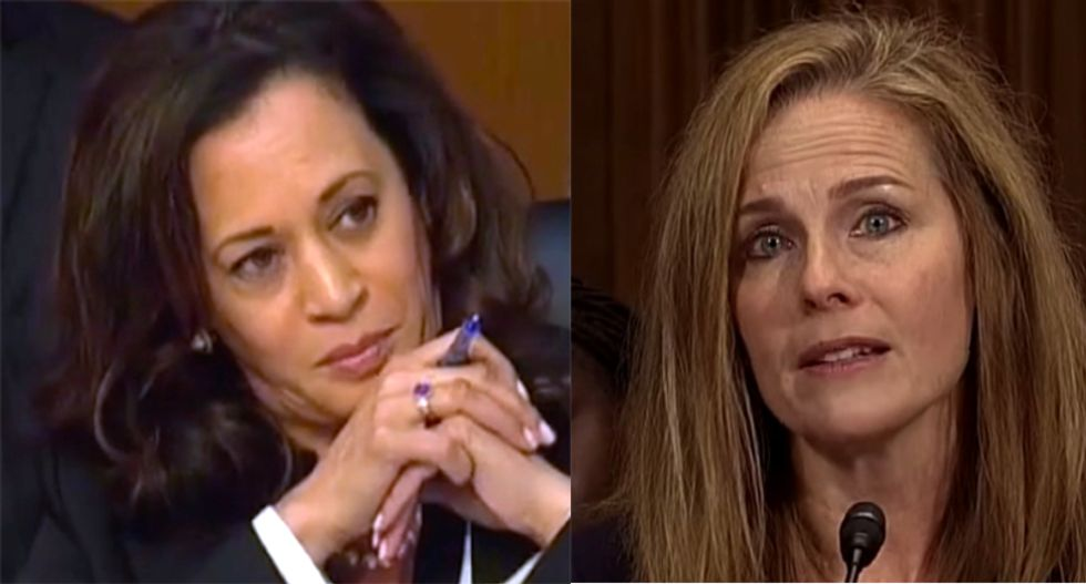 Democrats need to turn Kamala Harris loose on Amy Coney Barrett: columnist