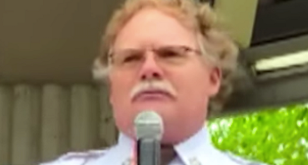 This Michigan GOP sheriff shared a stage with arrested militants -- now he's defending their right to 'arrest' the Democratic governor