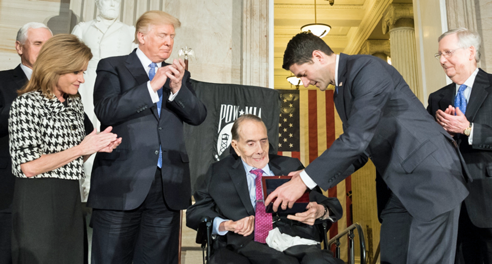 Bob Dole is still alive — and he worries the Debate Commission is biased against Trump