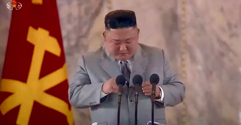 Sorry doesn't seem to be the hardest word for North Korea's Kim Jong Un