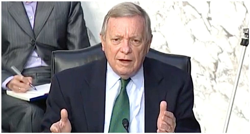 WATCH: Dick Durbin shuts down Lindsey Graham's attack on Obamacare at Amy Barrett hearing