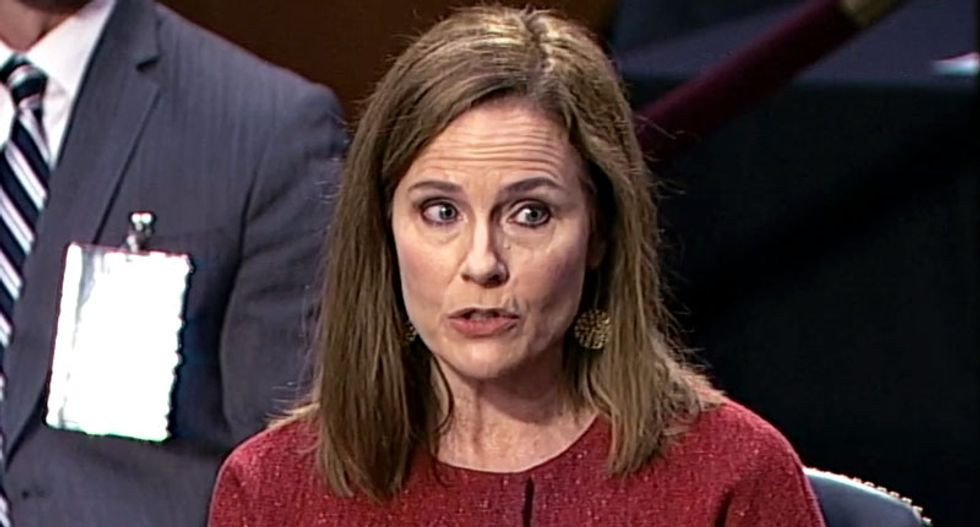Democrats force closed door session to delay Amy Coney Barrett confirmation