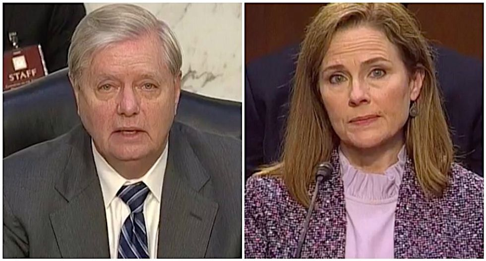 'Off to a hateful start': Lindsey Graham bashed for comparing same-sex marriage to polygamy