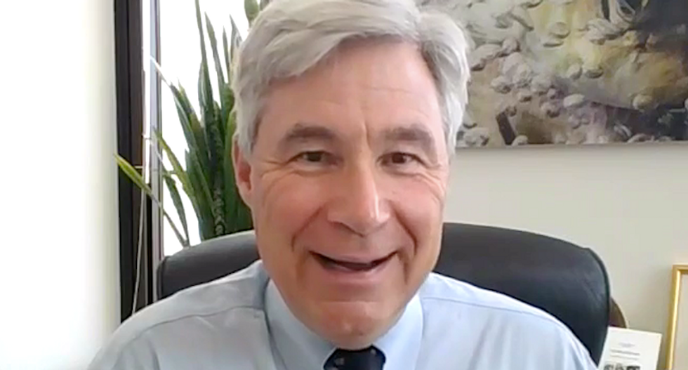 WATCH: Sheldon Whitehouse laughs at Ted Cruz's attempt to dismiss his exposé of shadowy right-wing judicial groups