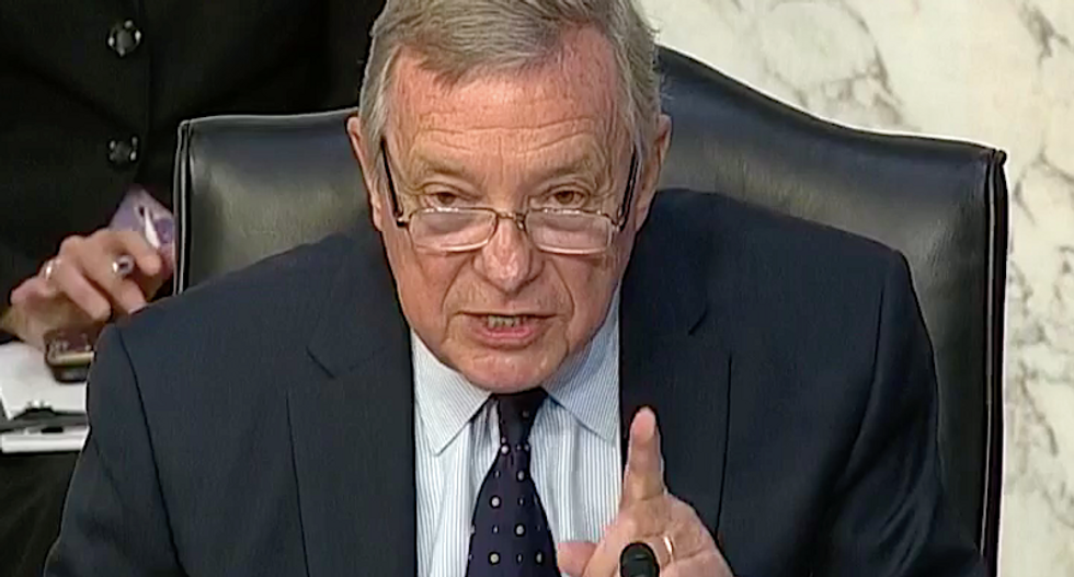 Dick Durbin nails 'shameless' GOP for rushing Barrett nomination: 'They must doubt Trump will be re-elected'