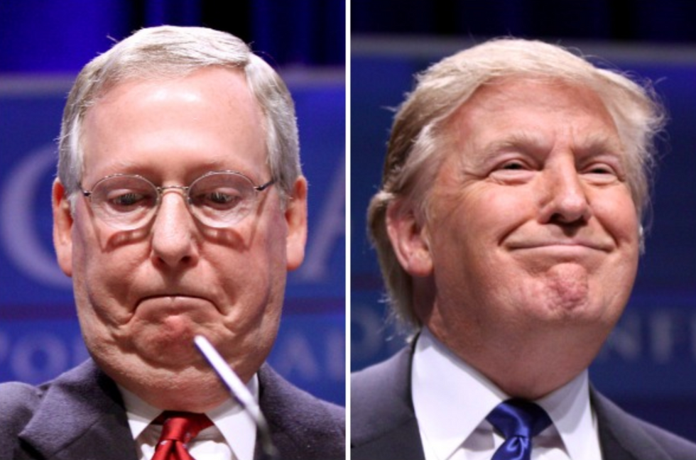 Rift emerges between McConnell and Trump as president seeks to turn impeachment 'into a spectacle': report
