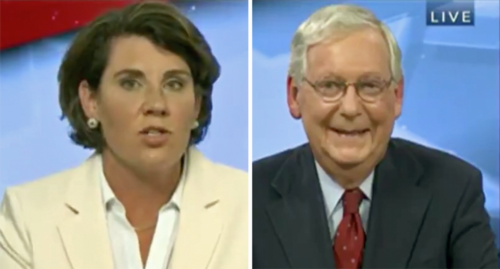 McConnell bashed for 'laughing like Confederate Voldemort' about coronavirus during Kentucky debate: 'Ain't a damn thing funny'