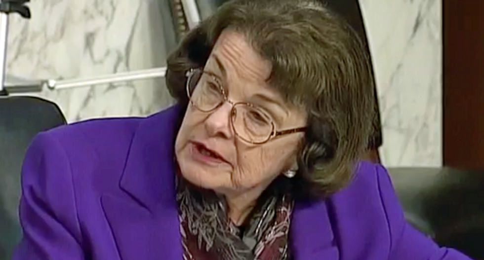 Senator Dianne Feinstein steps away from Judiciary Committee leadership
