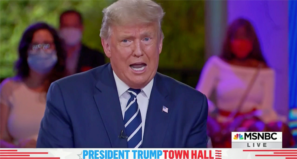 Trump's town hall stunt backfires: The president made the wrong choice when he refused to appear for a virtual face-off against Joe Biden