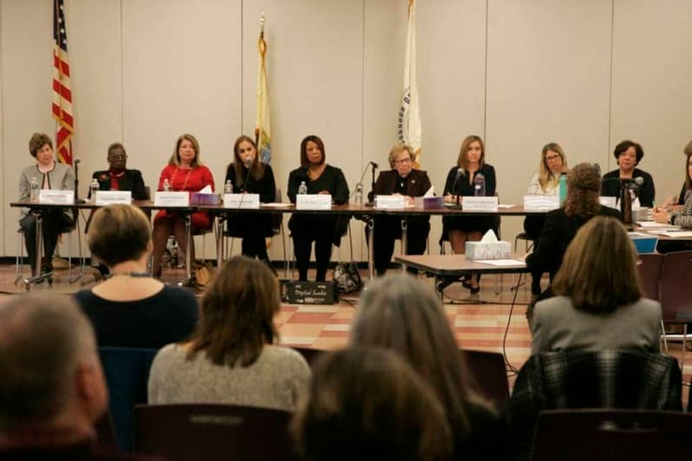 NJ Senate president engaged in 'gross misogyny,' labor activist tells sexual harassment panel