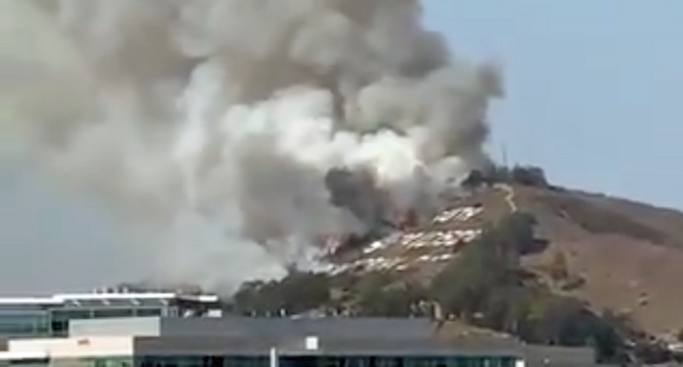 Massive fire in South San Francisco forces evacuation orders