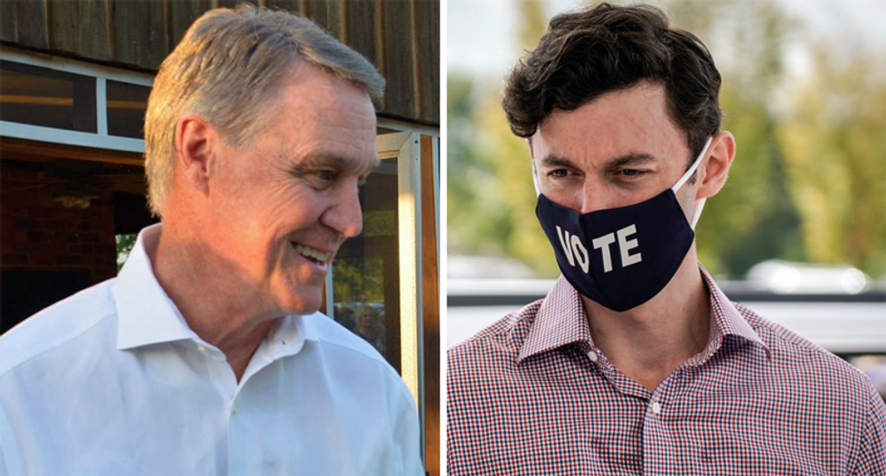 'What are you scared of?' Jon Ossoff needles David Perdue for ducking runoff debates