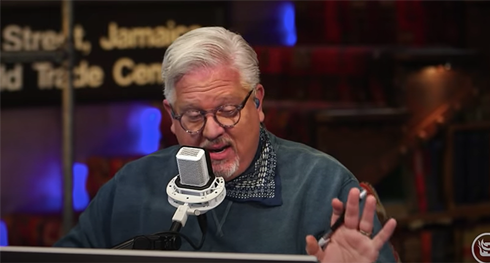 Glenn Beck says the end times are upon us -- but 'I'm always wrong with timing'