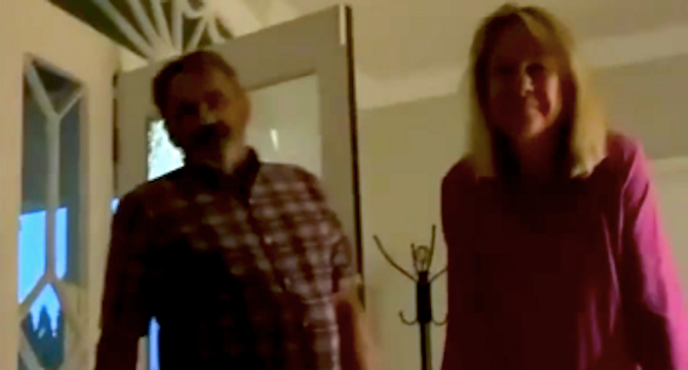 WATCH: White couple barges into Airbnb to question Black guest -- and then complain he's being unfair